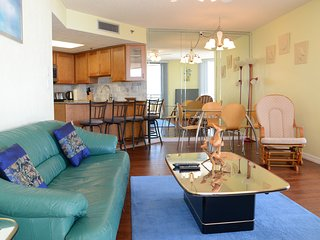 June/July $pecials - Oceans Atrium Condominium - Ocean View - 2BR/2BA - #1006 - Daytona Beach Shores vacation rentals
