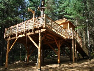 2 bedroom Tree house with Parking in Lastours - Lastours vacation rentals
