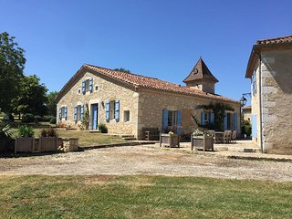 Spacious Farmhouse Barn with Game Room and Trampoline - Larroque-Saint-Sernin vacation rentals