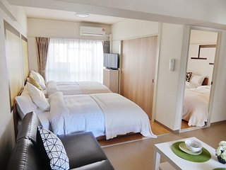 Namba Cozy apartment, 4 Comfortable beds, WiFi - Osaka vacation rentals