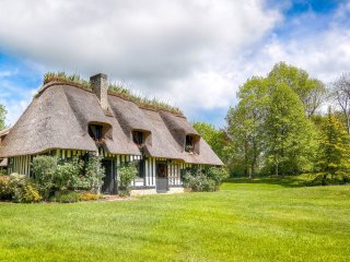 La Source: a magical house in pristine Normandy 'Bocage', 4 kms from Deauville - Saint-Arnoult vacation rentals