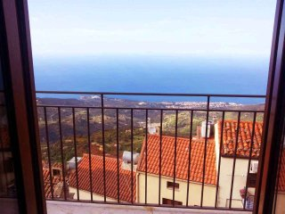 Spectatular view overlooking the Mediterranean. 15 miute drive to beach - Pollina vacation rentals