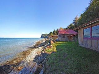 Halibut Hole Beach Front Cabin on the Strait of Juan De Fuca - Joyce vacation rentals