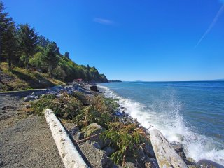 Whiskey Creek Beach Front Guest Cottage on the Strait of Juan De Fuca - Joyce vacation rentals