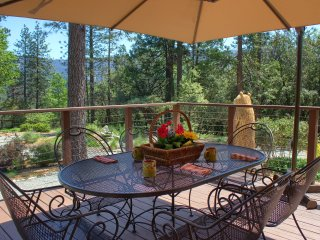 Faraway Views & Peacefulness in Lovely Cabin & Cottage on 9 Acres, by Lake - Bass Lake vacation rentals