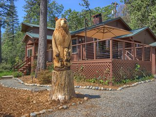 Faraway Views & Peacefulness in Quaint Cabin & Cottage on 9 Acres - Bass Lake vacation rentals