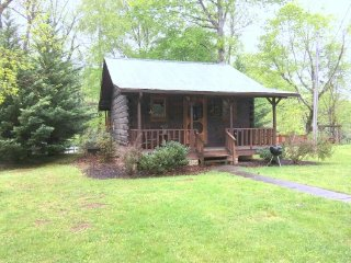 River Bend - Romantic Cabin for 2 on Little River - Townsend vacation rentals