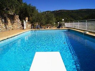 Villa with large pool in Provence - near the sea - calm - beautiful views - Belgentier vacation rentals
