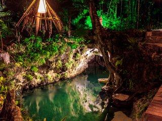 Villa La Cueva del Tapir para 16 personas con Cenote privado - Cancun vacation rentals