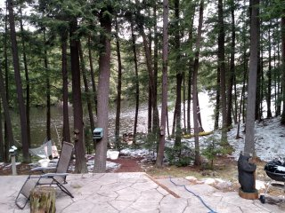 Wooded Lakefront property on Deer Lake - Three Lakes vacation rentals