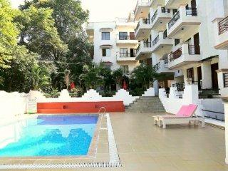 Elegant 2-BR apartment, 1.4 km from Vagator Beach - Chapora vacation rentals