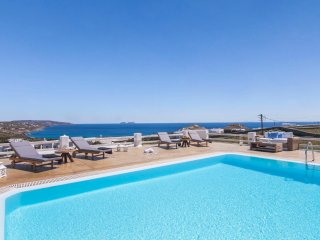 Mykonos - Gv - Villa Sunshine  II with  seaviews and pool near Kalafati Beach - Mykonos vacation rentals