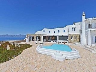 Blue Villas | Sunset | Traditional Villa with view - Mykonos vacation rentals