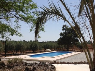 Casa Roja - Modern Villa with pool in stunning Spanish countryside near Lorca - Lorca vacation rentals