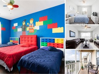 Magical Moments | Top Floor Oversized Condo Located in Bldg 5 with LEGO Themed - Orlando vacation rentals