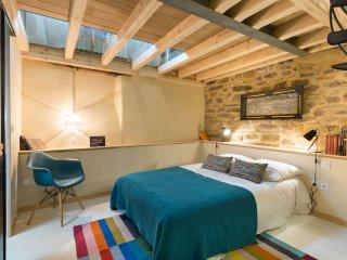 MAGENTA - joli duplex rénové centre - proche gare / TNB / Halles - 2 personnes - Rennes vacation rentals