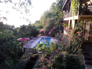 VILLA POMME D'AMOUR  a 3 minute walk to a secluded cove, ideal for snorkeling - Marigot Bay vacation rentals