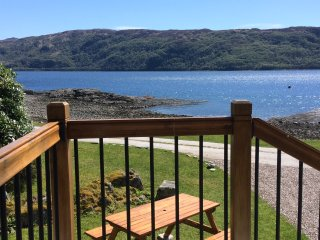 Ardnamurchan  House on the Shore  on Loch Sunart  West Highlands Sleeps 8 - Salen vacation rentals