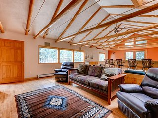 Colorado Bear Creek Cabins Creekside Log Home - Evergreen vacation rentals