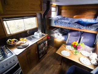 Luna, luxury campervan hire from Quirky Campers - Llanybydder vacation rentals