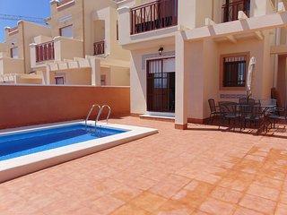 Duplex 11 stunning brand new beach front villa - Puerto de Mazarron vacation rentals