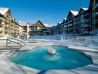 1 Bedroom Luxury unit– 3 HTs, Pool, Gym, Secured Bike Storage, Close to Lift - Whistler vacation rentals