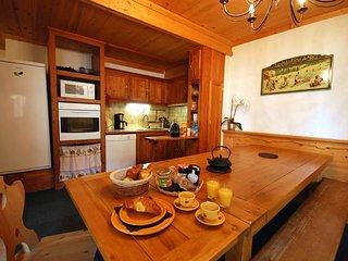 Beautiful 3 star apartment Les Bleuets 12 people 3 minutes slopes of - Saint-Chaffrey vacation rentals