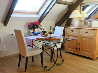 Spacious private loft apartment with walk out patio in heart of D Day landings - Sainte-Mere-Eglise vacation rentals