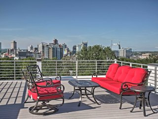 NEW! Sleek 3BR Nashville Townhome w/Rooftop Deck! - Nashville vacation rentals