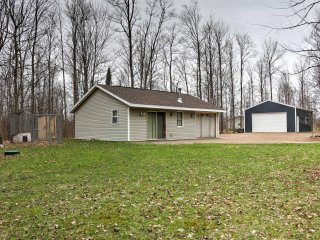 NEW! 1BR Pickerel Cabin on 17 Wooded Acres! - Pickerel vacation rentals
