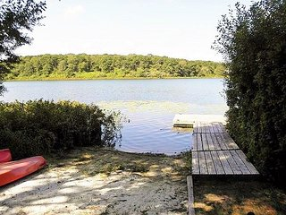 Lake Front Vacation Home on Lovers Lake in Chatham, sleeps 10! Central Air! - Chatham vacation rentals