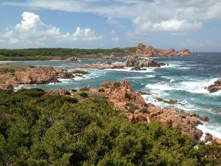 Comfortable Cottage Apartment For 4-6 Guests in Wild Sardinia - Isola Rossa vacation rentals