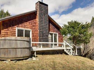 Forest view home w/ deck, sauna & racquetball/basketball court! - Stowe vacation rentals