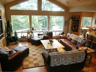 Maud Lake Lodge a Dune Access Lakefront Executive Home - North Bend vacation rentals