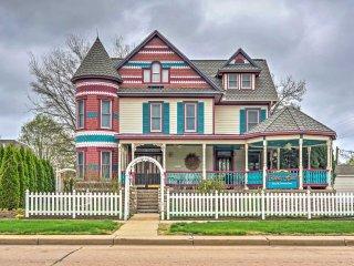 NEW! Victorian 5BR Lindsborg Home w/Gazebo & Porch - Lindsborg vacation rentals