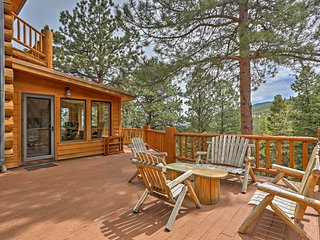 NEW! 4BR Evergreen Cabin w/ Deck & Mountain Views! - Evergreen vacation rentals