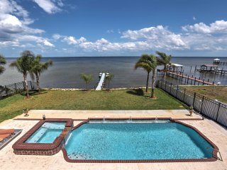 New! Waterfront 7BR Titusville House w/ Pool! - Titusville vacation rentals