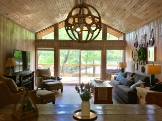 Quintessential Lake House, Sleeps 8, surrounded by trees - Sulphur vacation rentals
