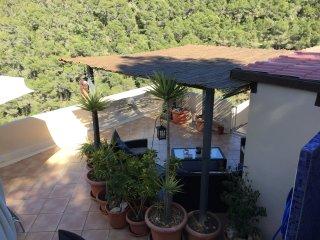 Buenavista, spectacular views over Ibiza. - Siesta vacation rentals