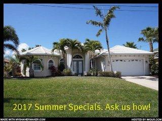 Villa Capri - Cape Coral 3b/2ba luxury home w/electric heated salt water - Cape Coral vacation rentals