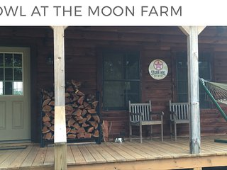 Beautiful, Very Private Cabin - H'Owl At The Moon - Charlottesville vacation rentals