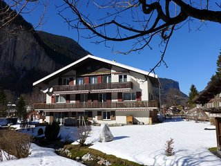 3 bedroom Apartment in Lauterbrunnen, Bernese Oberland, Switzerland : ref - Lauterbrunnen vacation rentals