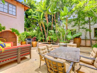 Casa Paloma: Enchanting Courtyard, Spacious Home in Peacefull Mission Hills - San Diego vacation rentals