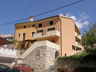 5 bedroom Villa in Krk Baska, Kvarner Islands, Croatia : ref 2216168 - Draga Bascanska vacation rentals
