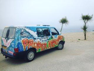 Camper Van Hire in Cornwall campervan motorhome - Scorrier vacation rentals