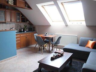 Sunny 1 bedroom Harkány Apartment with Television - Harkány vacation rentals