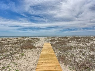 Watch the Dolphins from this Remodeled Gulf Front Home! Pet Friendly Beach! - Port Saint Joe vacation rentals