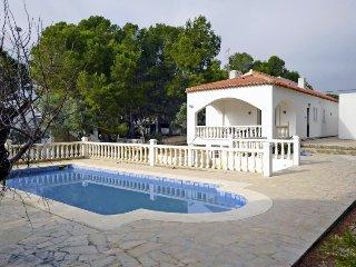 3 bedroom Villa in L Ametlla de Mar, Costa Daurada, Spain : ref 2395381 - Calafat vacation rentals
