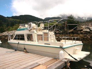Boat in the most scenic place on earth - Britannia Beach vacation rentals