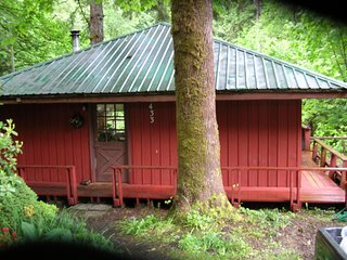 "Elk Creek Falls Cottage Charming Creekside Cottage in ""Volcano Country"" - Doty vacation rentals"